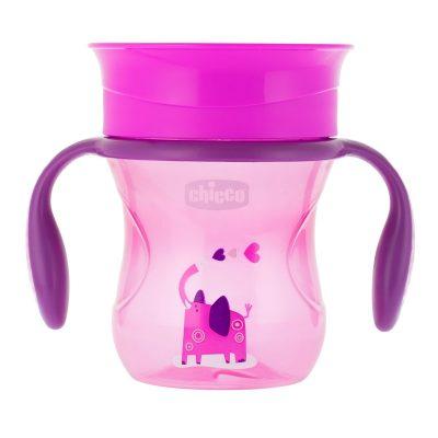 tazza perfect 12m+ Permette al bambino di familiarizzare con il bicchiere chicco bimbi viareggio