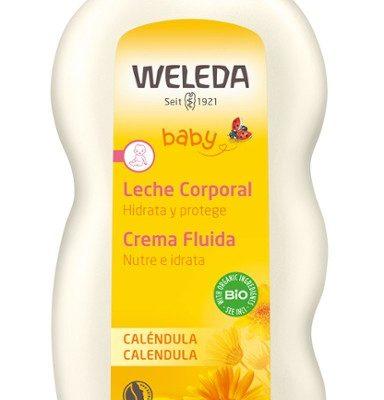 baby crema fluida alla calendula nutre e idrata weleda bimbi viareggio